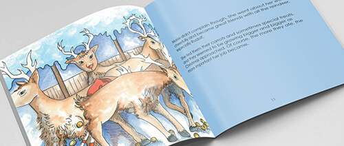 personalised christmas stories for kids